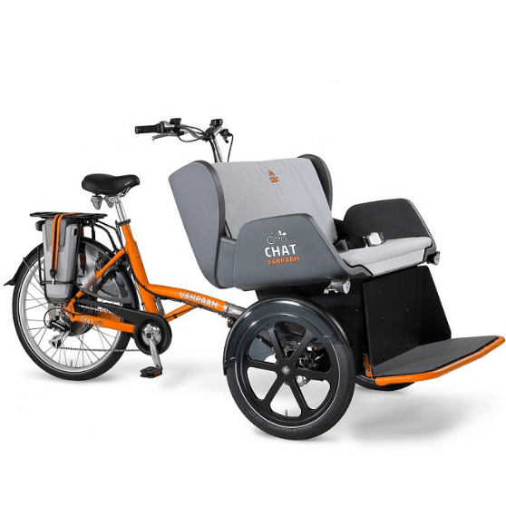 Chat riksja fiets