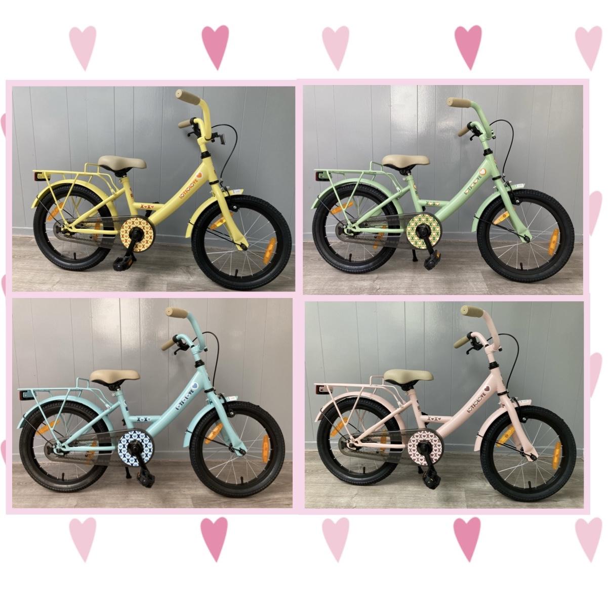 Bike Fun Lots of Love 16 inch